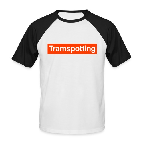 Tramspotting - Men's Baseball T-Shirt