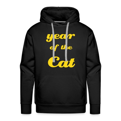 Year of the Cat - Men's Premium Hoodie