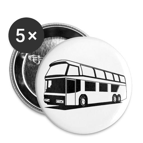 Bus Buttons - Buttons groß 56 mm (5er Pack)