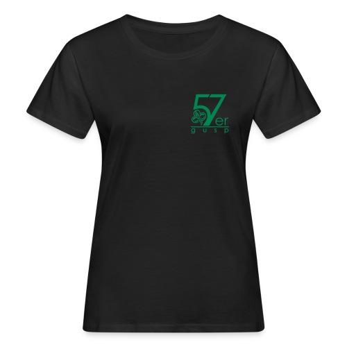 57er.gusp pfadfinderin - Frauen Bio-T-Shirt