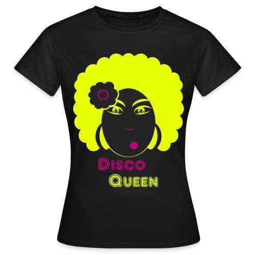 T shirt femme disco queen - T-shirt Femme