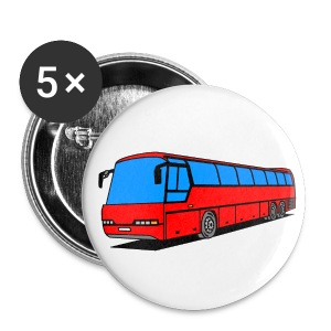 Bus Battons - Buttons klein 25 mm