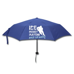 Ice Hockey Players Walk On Water Umbrella - Umbrella (small)