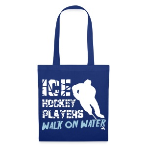 Ice Hockey Players Walk On Water Tote Bag - Tote Bag