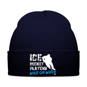 Ice Hockey Players Walk On Water Winter Hat - Winter Hat