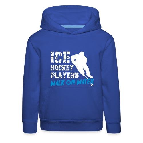 Ice Hockey Players Walk On Water Children'sHoodie - Kids' Premium Hoodie