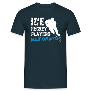 Ice Hockey Players Walk on Water T-Shirts