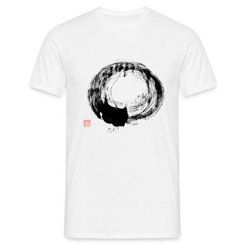 Cursive Circle T shirt - Men's T-Shirt