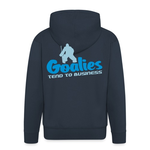 Goalies Tend To Business