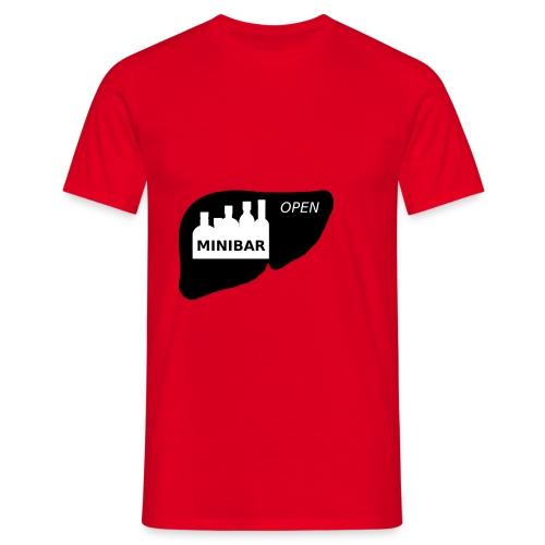Minibar statt Leber - Männer T-Shirt