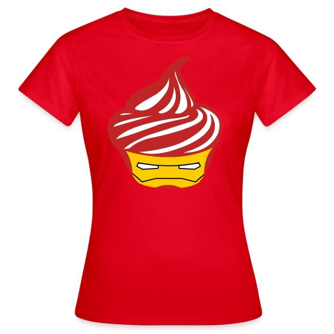 T-shirt Iron Cream Femme