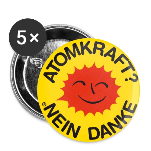 Atomkraft - Buttons mittel 32 mm