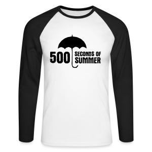 500 Seconds of Summer - Men's Long Sleeve Baseball T-Shirt