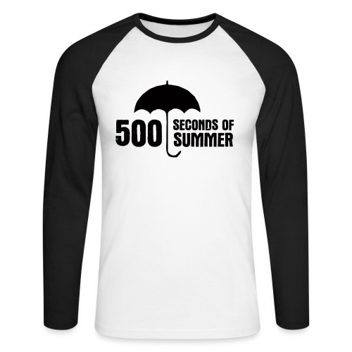 500 Seconds of Summer - Men's Long Sleeve Baseball T-Shirt