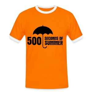 500 Seconds of Summer - Men's Ringer Shirt