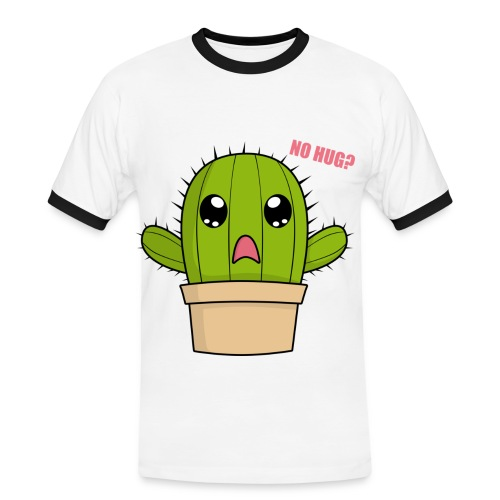 Cactus Hug - Men's Ringer Shirt