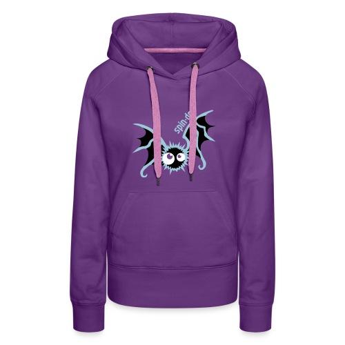 Dimensionssprung-Fledermaus Gormr Girl - Frauen Premium Hoodie