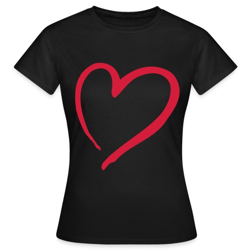 big heart t-shirt - Women's T-Shirt