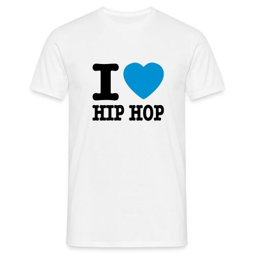 i love HIP HOP - Koszulka męska