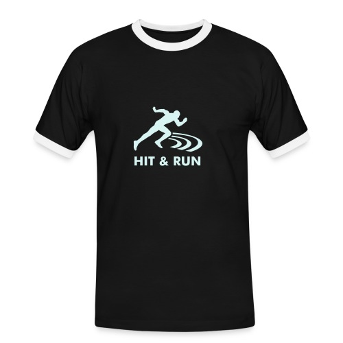 Hit & Run PR - Men's Ringer Shirt