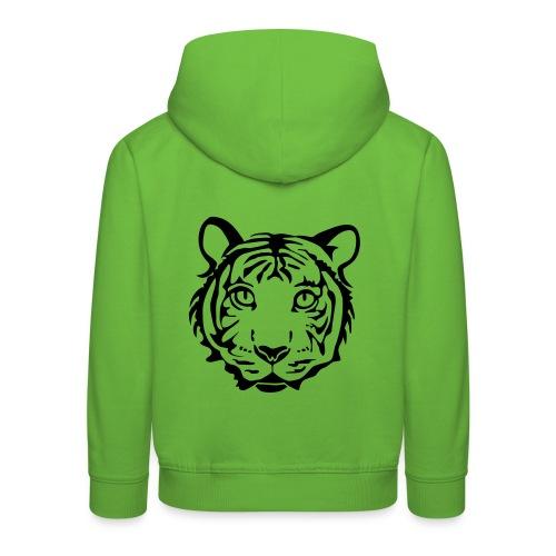 shirt tiger katze löwe puma lion cougar cat zoo wild tiershirt shirt tiermotiv tigermotiv party - Kinder Premium Hoodie