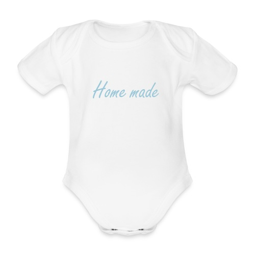 Home made - Organic Short-sleeved Baby Bodysuit
