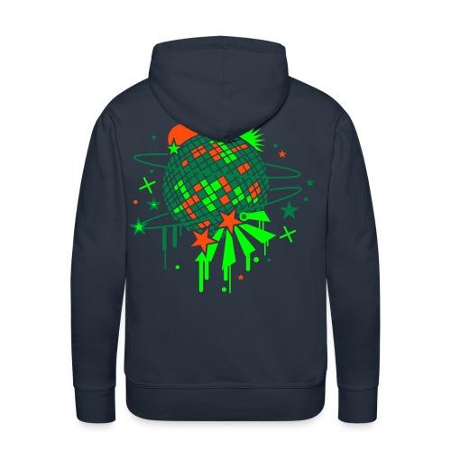 Planète musique - Sweat-shirt à capuche Premium pour hommes