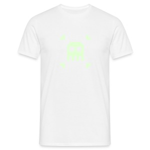 Indie Pixel Pusher Phosphorescent White - T-shirt Homme