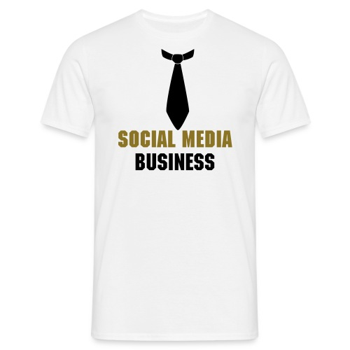 Social Media Business - Männer T-Shirt