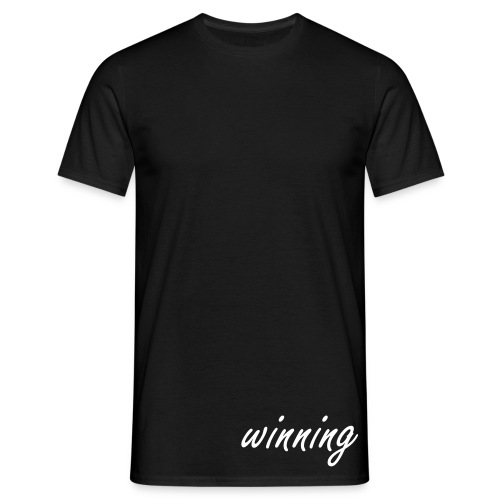 Winning Plain - Men's T-Shirt