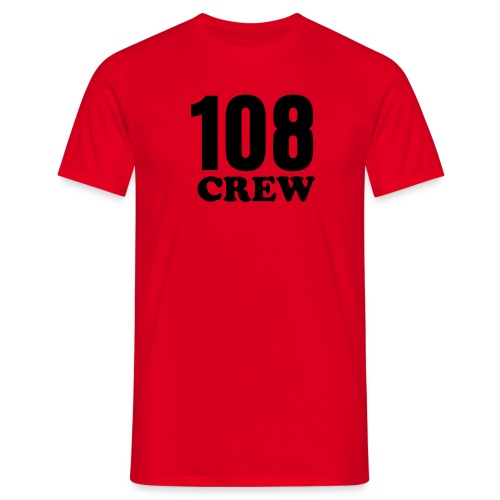 Tee with '108' inscription - Männer T-Shirt