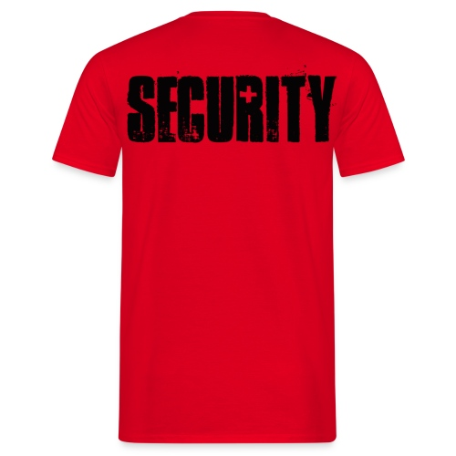 Tee with 'SECURITY' inscription - Männer T-Shirt
