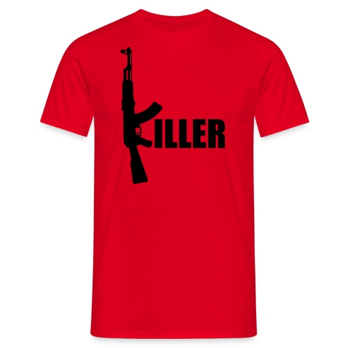 Tee with 'AK&KILLER' Logo - Männer T-Shirt