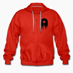 Red Vinyl Hoodies & Sweatshirts