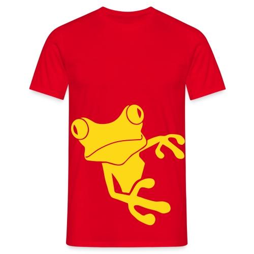 Shirt Frosch frog KröteLurch amphib unke prinz quak funshirt Tiershirt Shirt Tiermotiv - Männer T-Shirt