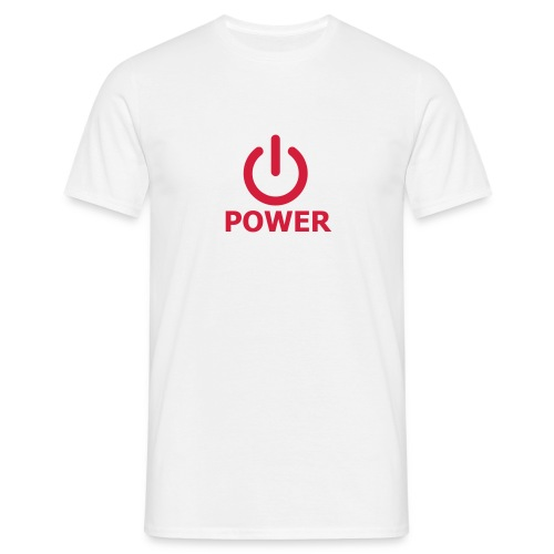 Power - Maglietta da uomo
