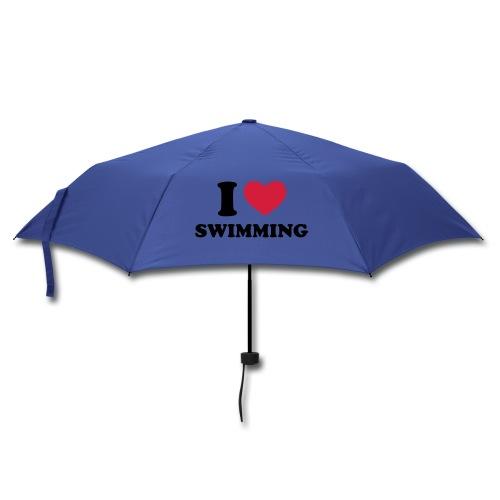 PARAGUAS I LOVE SWIMMING - Paraguas plegable