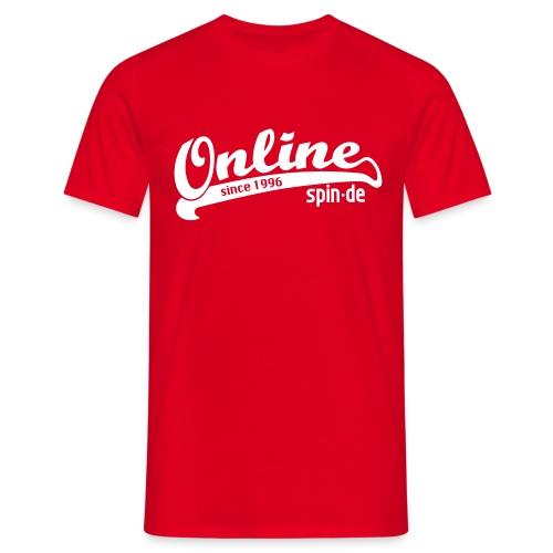 Online since 1996 Shirt - Männer T-Shirt