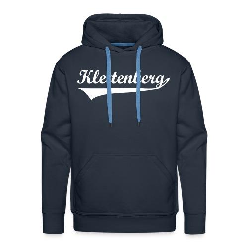 Klettenberg Sport Kapuzenshirt Farbwahl (weißer Druck) - Männer Premium Hoodie