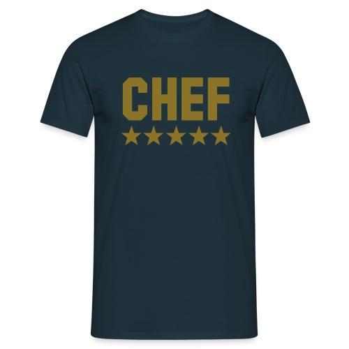 Chef  - Männer T-Shirt