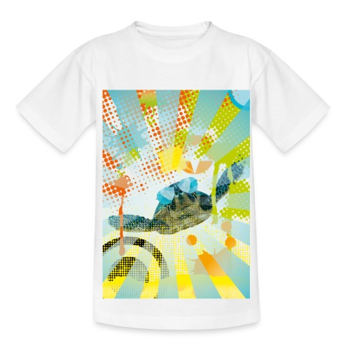 Sunglass Turtle  - Teenager T-Shirt