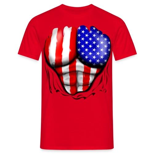 American - Camiseta hombre