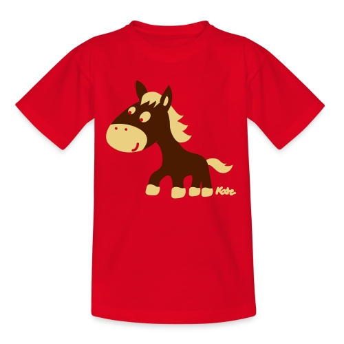 Horse - Camiseta adolescente