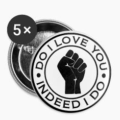 northern soul do i love you indeed i do button badge