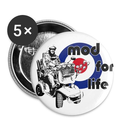 Mod For Life Button Badges - Buttons medium 32 mm