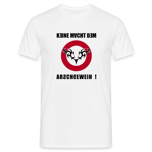 Arschgeweih - Männer T-Shirt