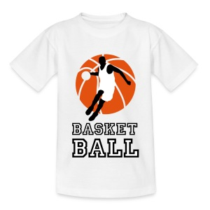 basketball_072011_p_3c Shirts - Teenage T-shirt