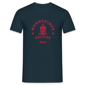 Mannheimer Rassler - Männer T-Shirt