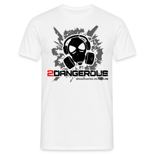 2 Dangerous White - Men's T-Shirt