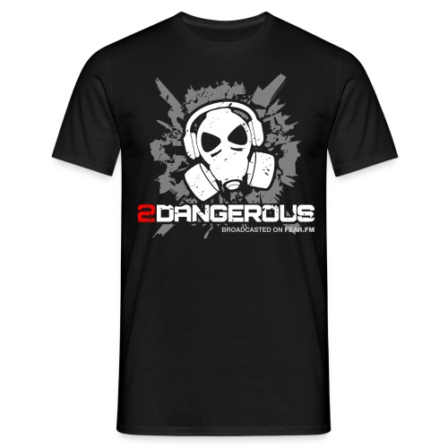2 Dangerous Black - Men's T-Shirt